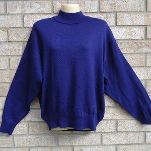 SIZE XL.RODIER Made in France Wool Blend Sweater.